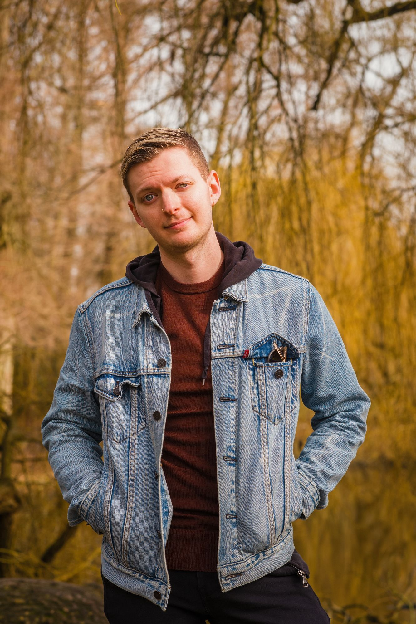 Zach Grosser, founder of Zach Studios, photographed for the Troopl Amsterdam Founder Series